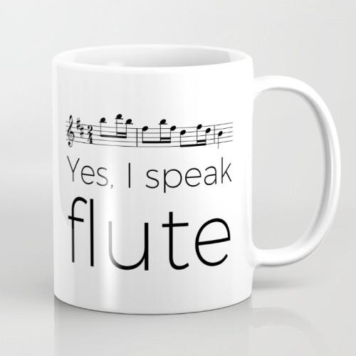 Yes, I speak flute