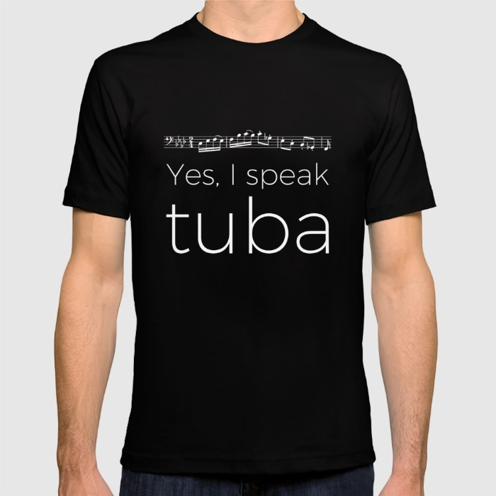 yes-i-speak-tuba-tshirts