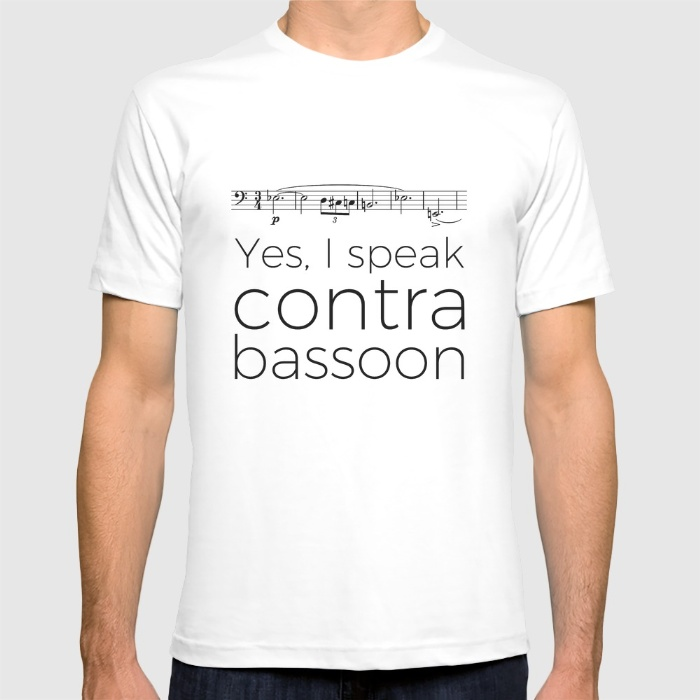 do-you-speak-contrabassoon-tshirts