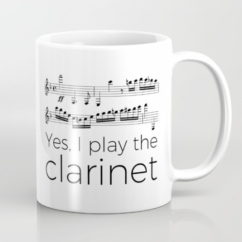 Yes, I play the clarinet