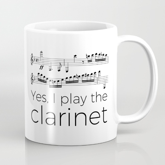 Yes, I play the clarinet – The curious clarinet
