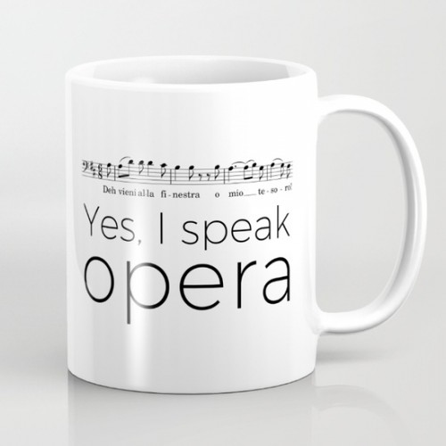 Yes, I speak opera (version baryton)