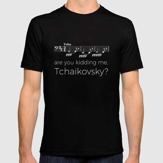 tuba-are-you-kidding-me-tchaikovsky-black-tshirts