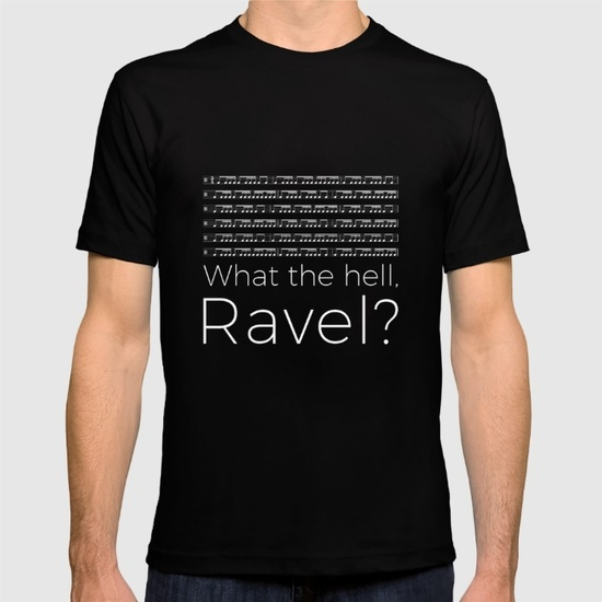 what-the-hell-ravel-black-tshirts