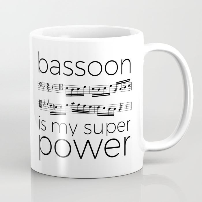 bassoon-is-my-super-power-white-mugs