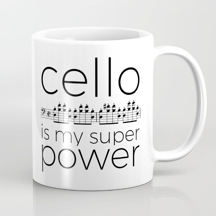 """""""My instrument is my super power"""" mugs – The curious clarinet"""