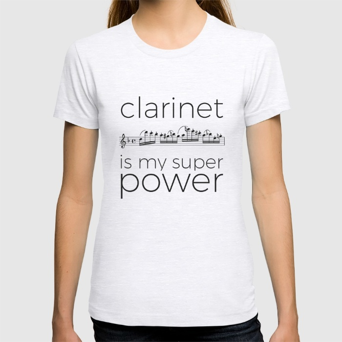clarinet-is-my-super-power-white-tshirts
