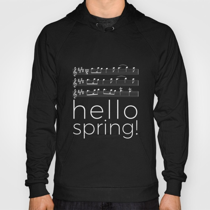 hello-spring-black-hoodies