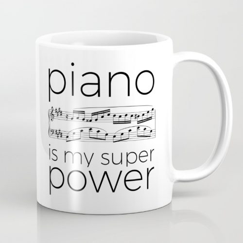 "Mugs ""My instrument is my super power"""