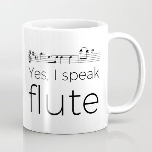 Do you speak flute?