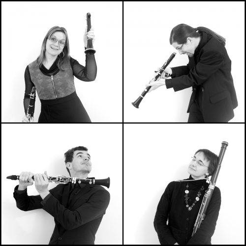 "Concert du quatuor ""Du simple au double"" le 15 octobre 2016 aux Moussières"