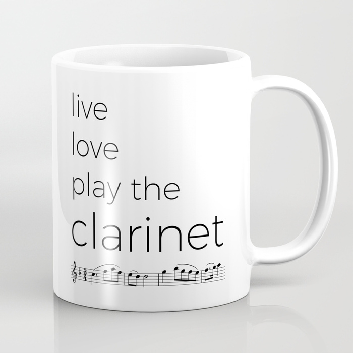 live love play the clarinet