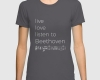 Live, love, listen to Beethoven Classical music tshirt