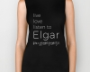 Live, love, listen to Elgar Classical music biker tank top