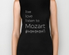 Live, love, listen to Mozart Classical music biker tank