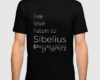 Live, love, listen to Sibelius Classical music t-shirt