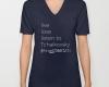 Live, love, listen to Tchaikovsky Classical music v-neck t-shirt