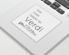 Live, love, listen to Verdi Classical music sticker