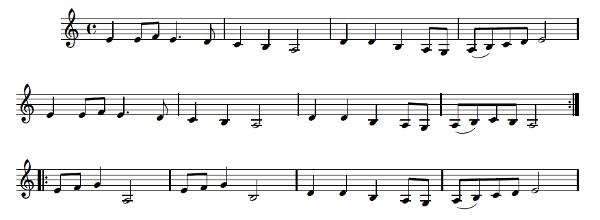Quatre petites danses bretonnes pour clarinette - aperçu