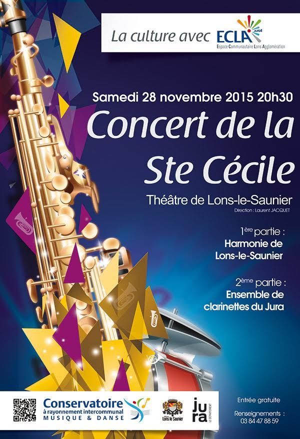 Concert Lons Ensemble de Clarinettes du Jura