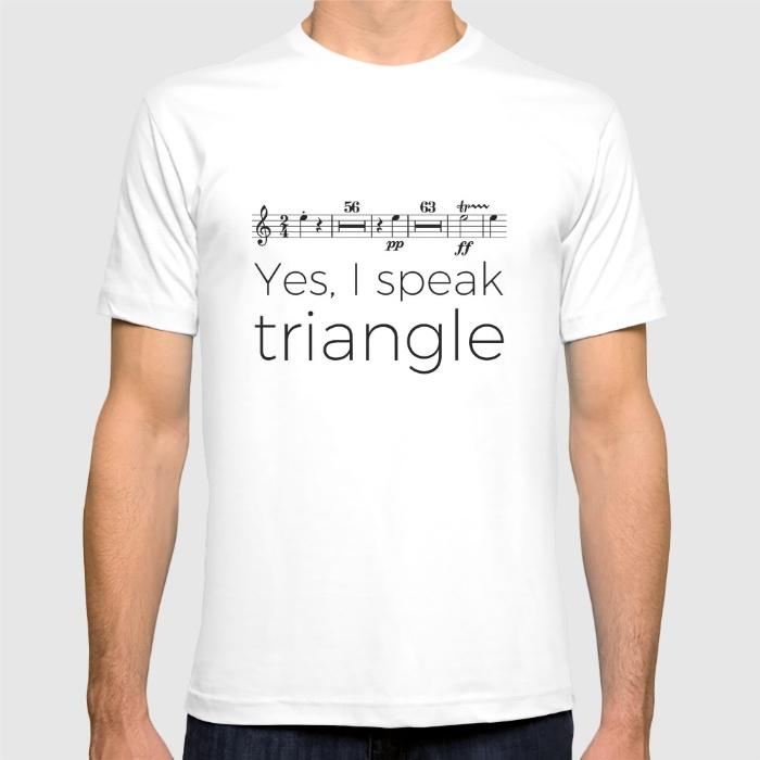 i-speak-triangle-tshirts