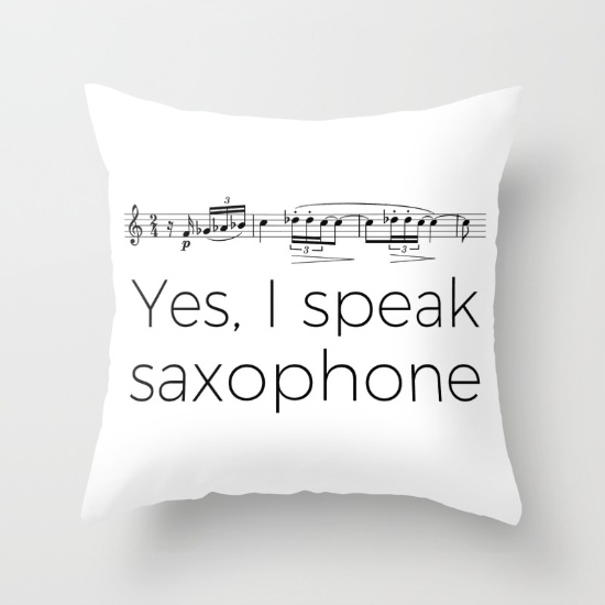 yes-i-speak-saxophone-pillows