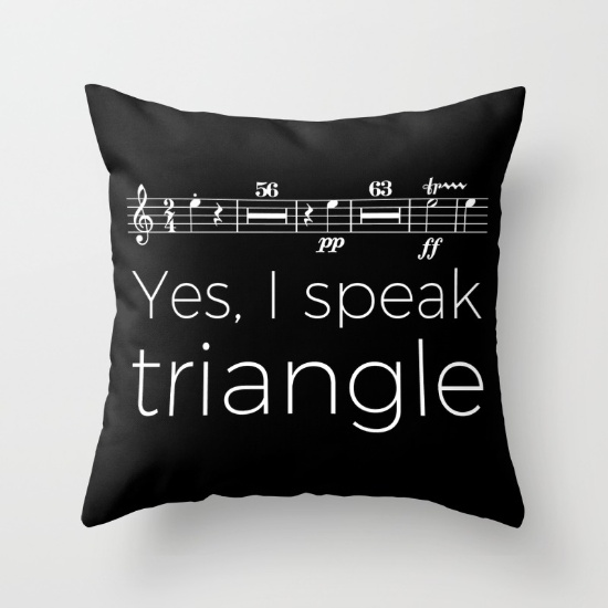 yes-i-speak-triangle-pillows