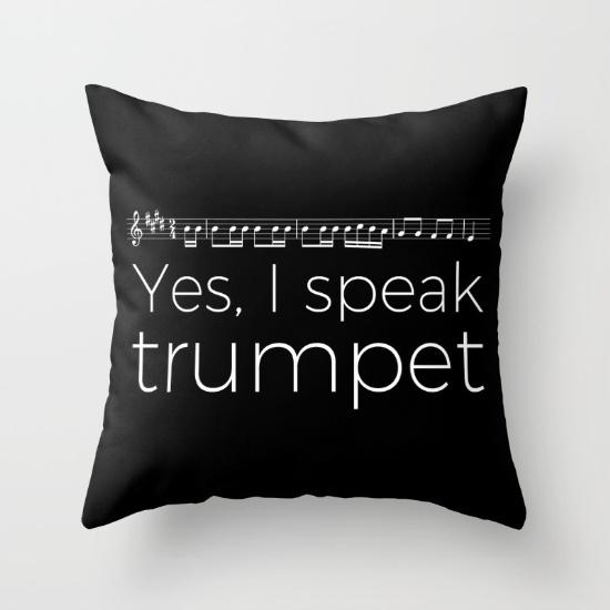 yes-i-speak-trumpet-pillows