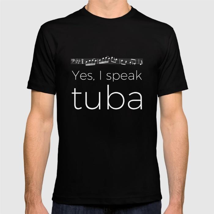 yes-i-speak-tuba-tshirts