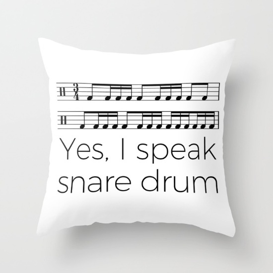 i-speak-snare-drum-pillows