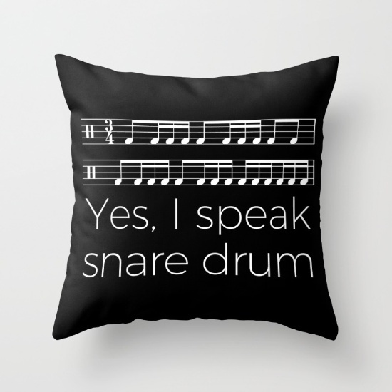 yes-i-speak-snare-drum-pillows