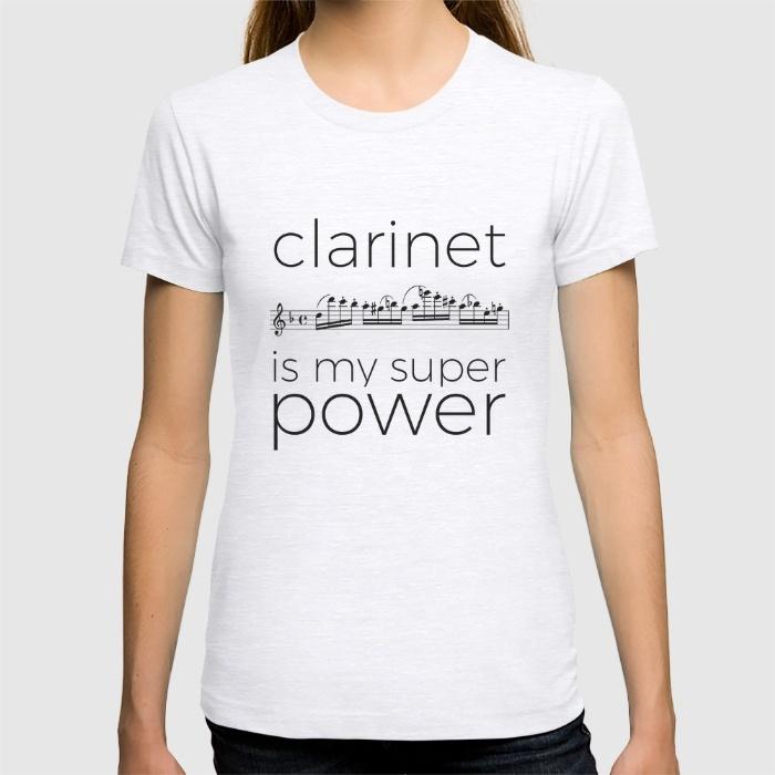clarinet-is-my-super-power-white-tshirts