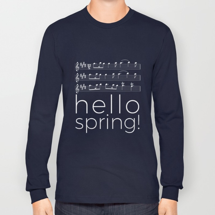 hello-spring-black-long-sleeve-tshirts