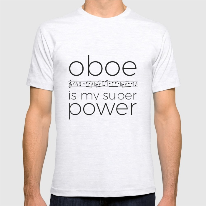 oboe-is-my-super-power-white-tshirts