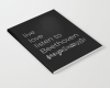 Live, love, listen to Beethoven Classical music notebook
