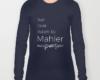Live, love, listen to Mahler Classical music long sleeves t-shirt