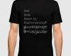 Live, love, listen to Rachmaninoff Classical music t-shirt