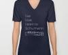 Live, love, listen to Schumann Classical music v-neck shirt