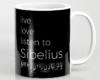 Live, love, listen to Sibelius Classical music mug