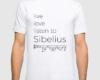 Live, love, listen to Sibelius Classical music t-shirt