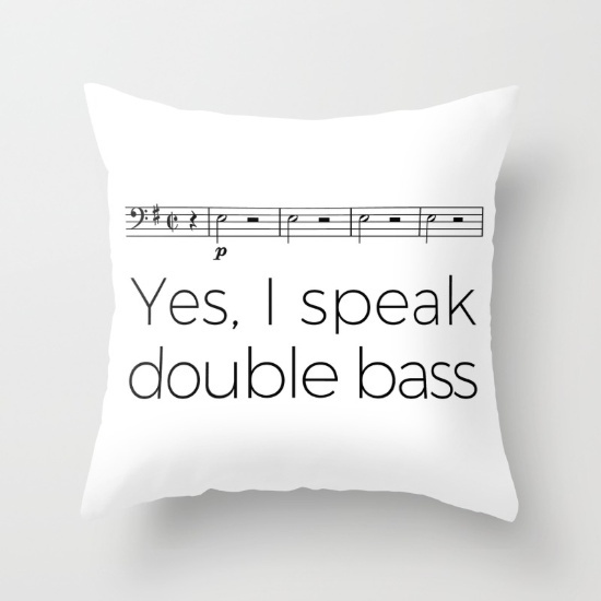 Perfect gift for double bassist