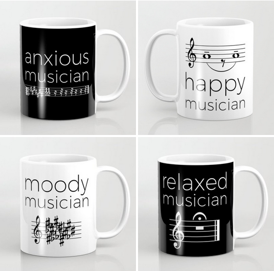 Perfect gift for musician expressing their mood.